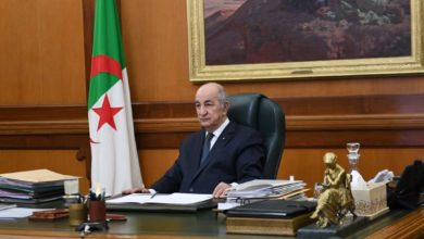 صورة الجزائر- الرئيس تبون يجري لقاء مع الصحفيين يبث الليلة