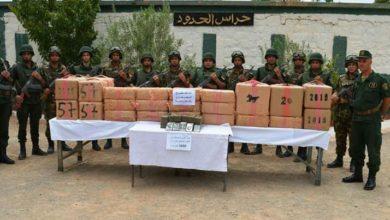 صورة الجيش يوقف 18 بارون مخدرات ويحجز قرابة 4 قناطير من الكيف المعالج