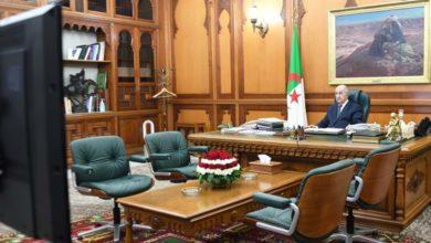 صورة الرئيس تبون يترأس اجتماعا لمجلس الوزراء غدا الأحد