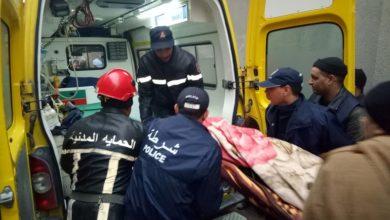 صورة وهران: انتشال جثة طالب من الشاطئ الصخري بحي العقيد لطفي