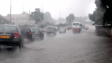 صورة أمطار رعدية مرتقبة على بعض ولايات الوطن