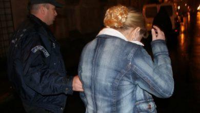 صورة توقيف امرأة تقود شبكة للمتاجرة بالمخدرات في تلمسان