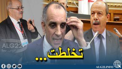 صورة رئيس نقابة القضاة يهاجم رئيس نقابة المحامين ويتهمه بالتواطؤ مع زغماتي