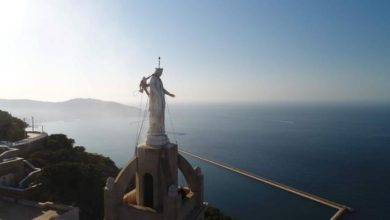 """صورة حبس 4 حراس كنيسة حاولوا سرقة تمثال """"العذراء مريم"""" بوهران"""