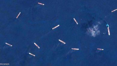 """صورة سفن عالقة في البحار منذ أشهر بسبب """"كورونا"""""""