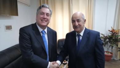 """صورة السفير الأمريكي بالجزائر: مباحثاتي مع الرئيس تبون كانت """"جد مثمرة"""""""