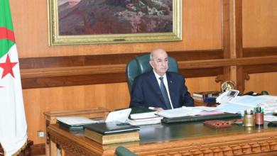 صورة الرئس تبون يتـرأس غدا الإجتماع الدوري لمجلس الوزراء