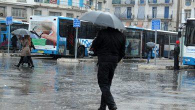 صورة أمطار رعدية أمسية اليوم على عدة الولايات