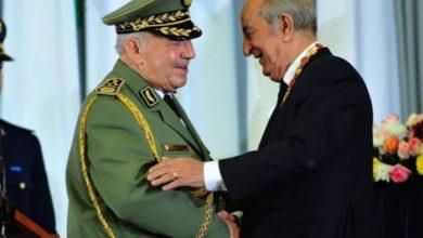 صورة تسمية مقر أركان الجيش الوطني الشعبي باسم المرحوم قايد صالح