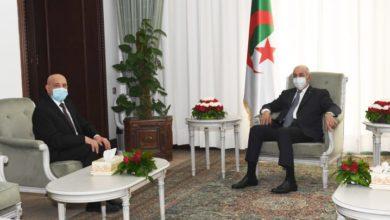 صورة عقيلة صالح يزور الجزائر غداً