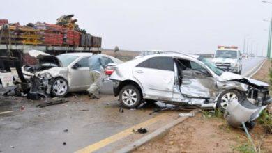 صورة وفاة 40 شخصا وإصابة 1251 في حوادث مرور خلال أسبوع
