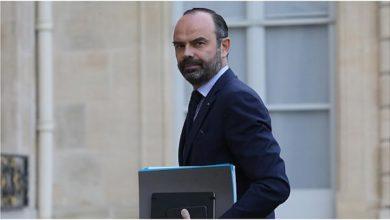 صورة استقالة حكومة رئيس الوزراء الفرنسي إدوارد فيليب