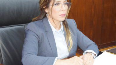 صورة سليمة سواكري تشارك في أشغال مجلس وزراء الشباب و الرياضة العرب