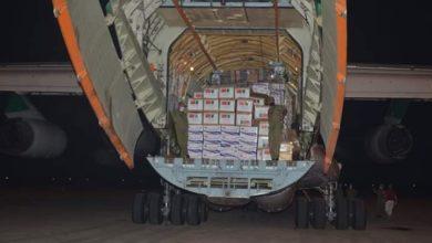 صورة 40 طنا من الأدوية والمعدات الطبية لمواجهة كورونا