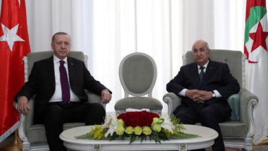 صورة الرئيس تبون يتلقى مكالمة هاتفية من أردوغان
