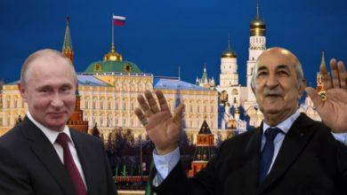 صورة بوتين يجدد دعوته للرئيس تبون لزيارة روسيا