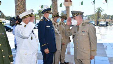 صورة شنقريحة: على الجميع وضع أمن واستقرار الجزائر أولوية الأولويات