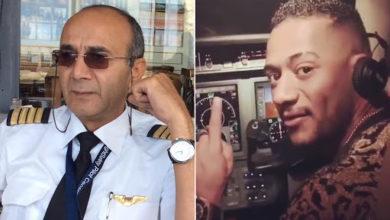 """صورة السجن عاما واحداً لمحمد رمضان بقضية """"سب وقذف"""" الطيار أبو اليسر"""