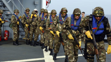 صورة الجيش يشارك في فعاليات الطبعة الـ 6 للألعاب العسكرية الدولية في روسيا