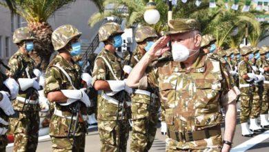 صورة شنقريحة: كافة حدودنا البرية ومياهنا الإقليمية ومجالنا الجوي أمانة بين أيدي رجال الجيش