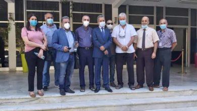 صورة هذا هو الفريق الطبي الذي أرسلته الجزائر إلى لبنان
