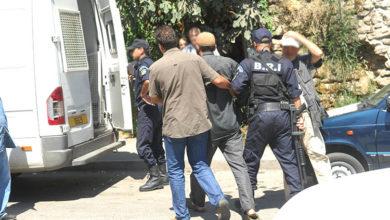 صورة مصالح الأمن تلقي القبض على قاتل زوجته وجنينها ببني مسوس