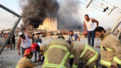 صورة أكثر من 100 قتيل في انفجار بيروت