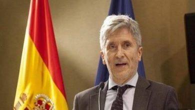 صورة بلجود يستقبل وزير الداخلية الاسباني..!