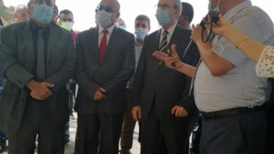 صورة الوزير شيعلي يشدد على ضرورة تسليم مشروع الطريق الاجتنابي لشرشال في الآجال المحددة