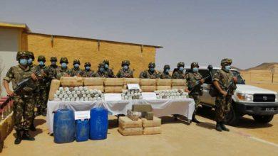 صورة حجز قرابة 12 قنطارا من الكيف وعدة عمليات أخرى ناجحة للجيش في ظرف 6أيام