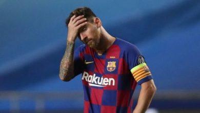 """صورة """"الليغا"""" تساند البارصا ضد ميسي"""
