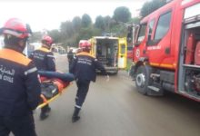 صورة الجلفة: وفاة 3 أشخاص في حادث مرور بفيض البطمة
