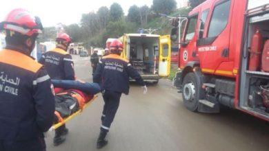 صورة تيبازة: اصطدام سيارة بـ4 تلاميذ مخلفة صدمة وجروح طفيفة على الضحايا