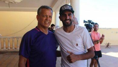صورة لخضر بلومي: نصحت رياض محرز بمغادرة السيتي