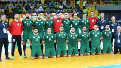 صورة المنتخب الوطني لكرة اليد يوقف تربصه بسبب كورونا