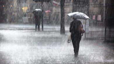 صورة أمطار رعدية على معظم ولايات الوطن ابتداء من زوال اليوم