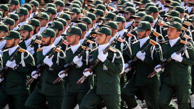صورة اغتيال قائد في الحرس الثوري الإيراني و 3من حراسه على الحدود العراقية السورية