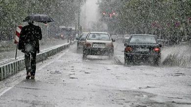 صورة أمطار رعدية غزيرة على 8 ولايات شرقية ابتداء من ظهيرة اليوم