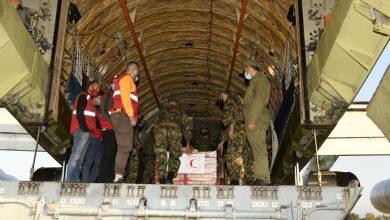 صورة الجيش الوطني الشعبي ينقل مساعدات إنسانية لفائدة الشعب الصحراوي