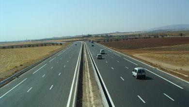 صورة فتح آخر مقطع من الطريق السريع اليوم بين ولايتي غرداية و الأغواط
