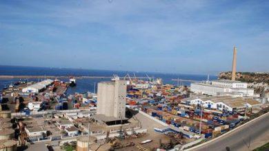 صورة ميناء وهران يسجل ارتفاعا بنسبة 7.08 بالمائة في النشاط التجاري