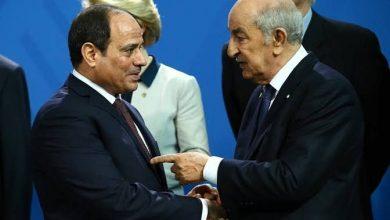 صورة الرئيس تبون يتلقى اتصالا هاتفيا من الرئيس المصري لبحث الملف الليبي