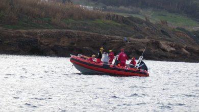 صورة تواصل البحث عن الضابطين الشهدين إثر سقوط الطائرة المروحية بتيبازة