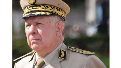 صورة شنقريحة: نسعى لتطوير صناعة عسكرية جزائرية واعدة