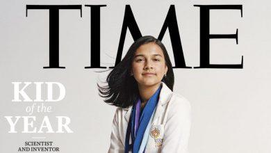 """صورة طفلة هندية تخترع أحدث التطبيقات.. وتايم تكافأها بجائزة """"طفل العام"""""""