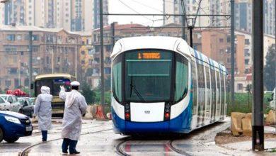 صورة تحضيرات لإستئناف حركة النقل عبر السكك الحديدية والميترو