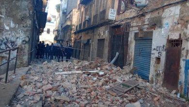 صورة مسلسل سقوط البنايات القديمة يتواصل بوسط مدينة سكيكدة