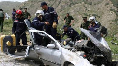 صورة حوادث المرور: وفاة 17 شخصا وجرح 1078 خلال أسبوع
