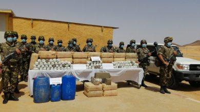 """صورة حجز أزيد من 16 قنطار من """"الزطلة"""" قادمة من المغرب وتوقيف 28 تاجر مخدرات خلال أسبوع"""