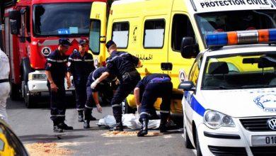 صورة مقتل 6 أشخاص وإصابة 250 آخرين إثر حوادث مرور خلال ال48 ساعة الأخيرة
